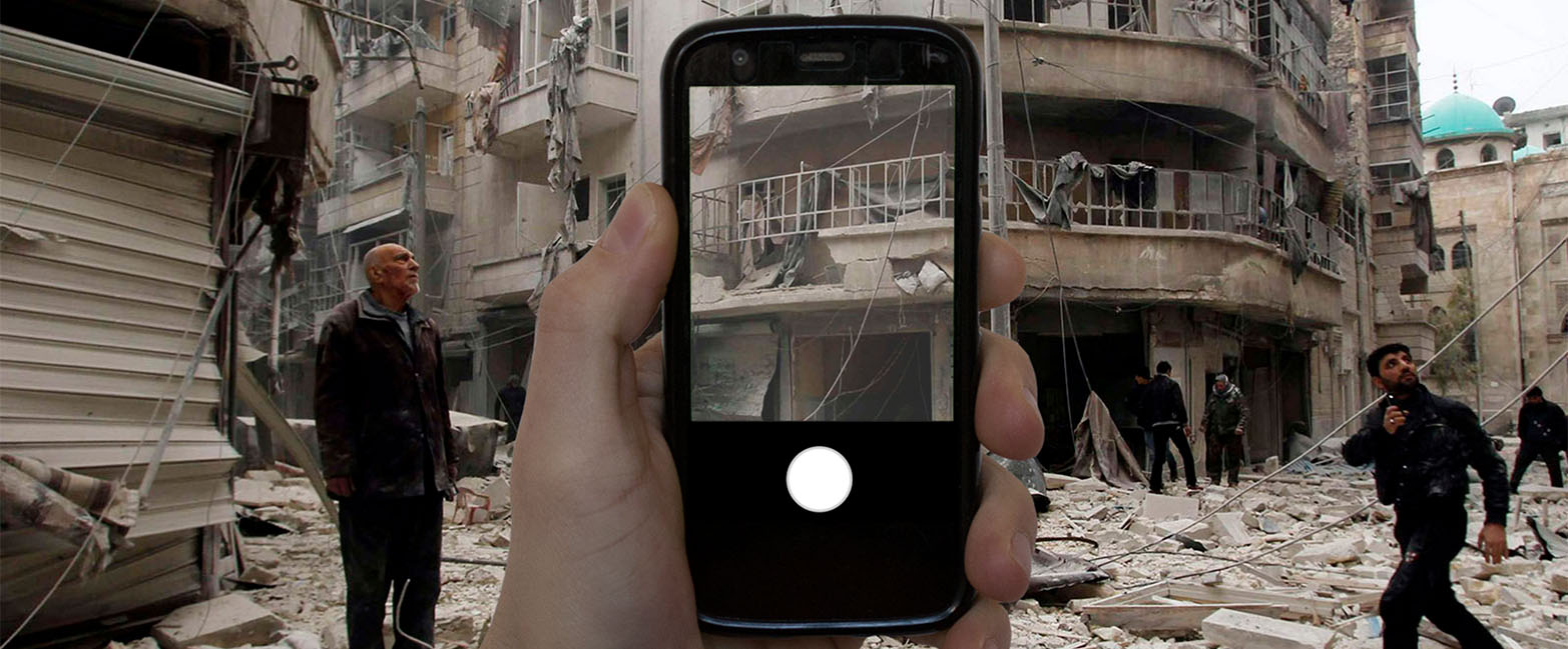 Creating awareness for refugees through smartphone photography
