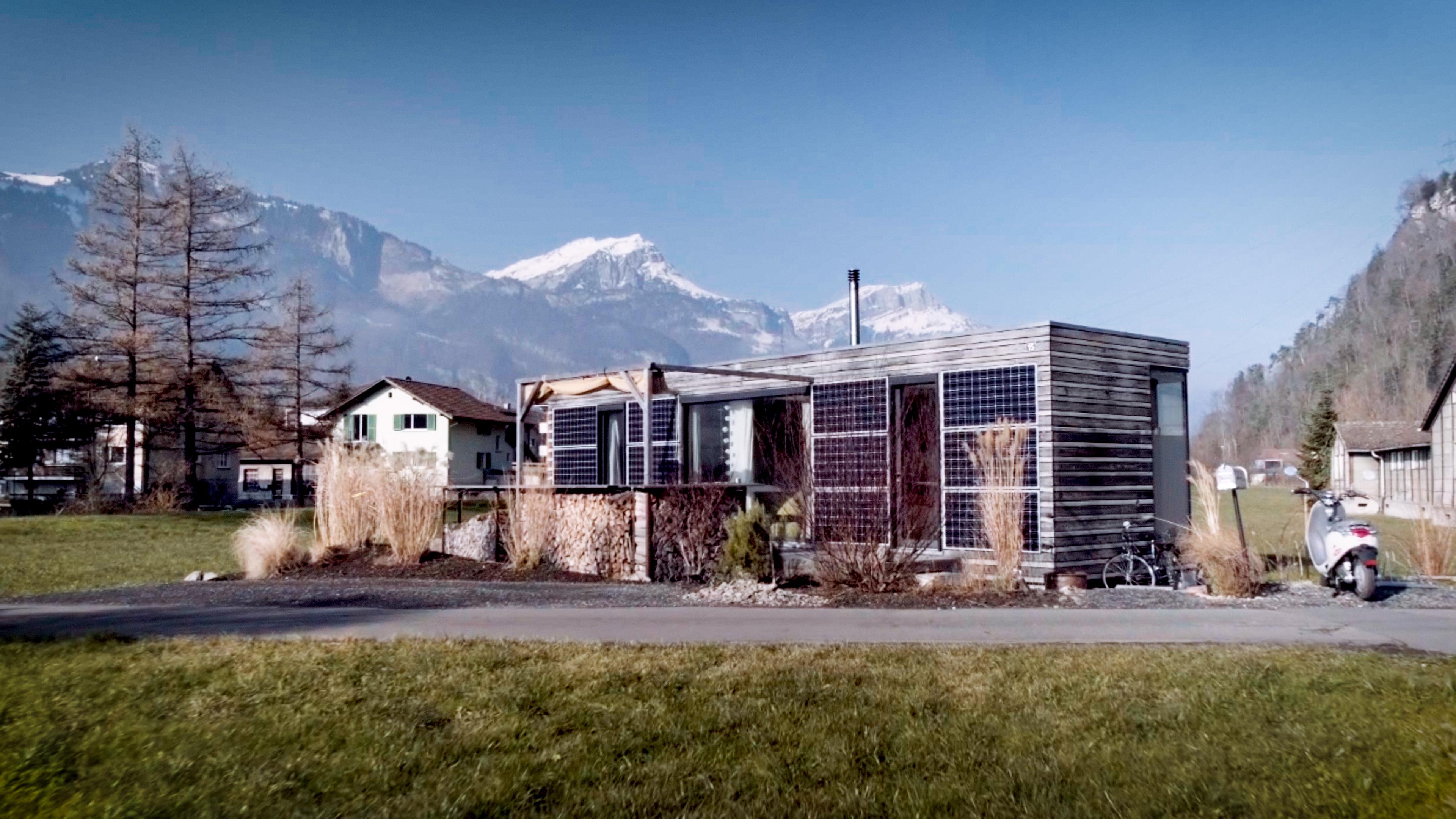 Nachhaltiges Wohnen auf 35m2 im Ökominihaus